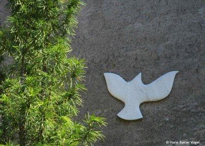 Taube aus Stein