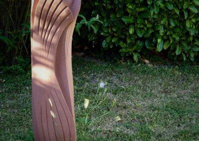 AUFBRUCH – Sandstein rosarot