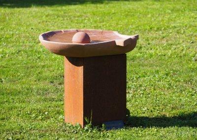 PERLENMUSCHEL – Sandstein rosarot
