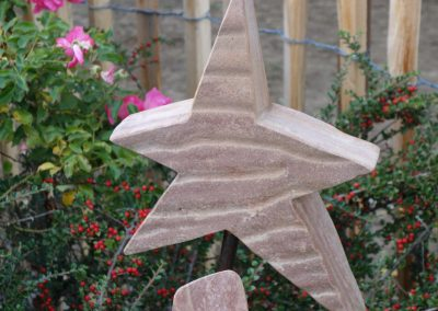 Sterne aus Stein